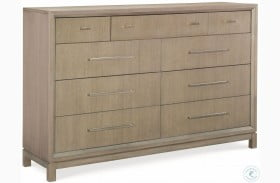 High Line Greige 9 Drawer Dresser by Rachael Ray