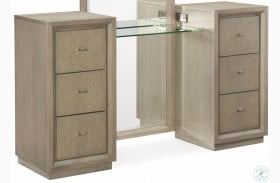 High Line Greige 6 Drawer Vanity by Rachael Ray