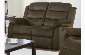 Rodman Chocolate Reclining Living Room Set From Coaster