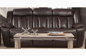 Bevington Chocolate Reclining Sofa