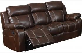 Myleene Chestnut Reclining Sofa