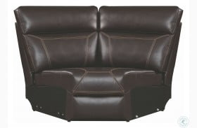 Albany Brown Reclining Wedge