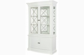 Upstate Bianco Display Cabinet by Rachael Ray
