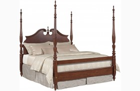 Hadleigh Rice Carved Poster Bed