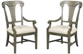 Greyson Fulton Splat Back Arm Chair Set of 2