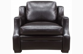Grandview Espresso Leather Chair