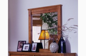 Diego Cinnamon Pine Mirror