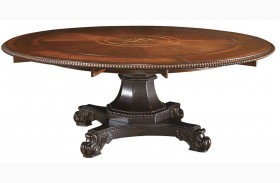 Kingstown Burnished Brown Cassis Bonaire Round Dining Table