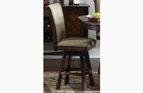 Westwood Swivel Counter Height Chair Set of 2