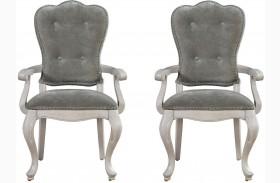 Elan Elm Arm Chair Set of 2
