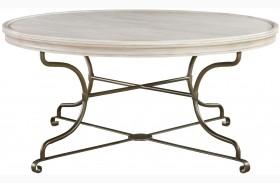 Elan Elm Round Cocktail Table