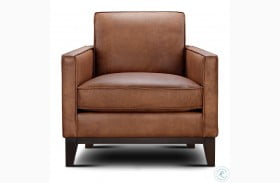 Chelsea Honey Roscoe Leather Chair
