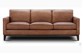 Chelsea Honey Roscoe Leather Sofa