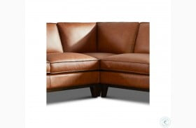 Chelsea Honey Roscoe Leather Corner Wedge