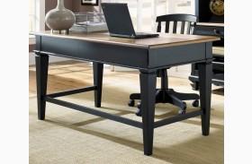 Bungalow II Black Jr Executive Desk