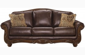 Mellwood Walnut Sofa