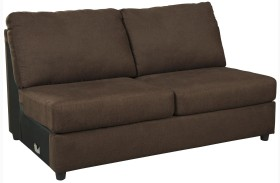 Jayceon Java Armless Loveseat