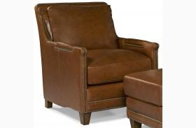 Prescott Brooklyn Saddle Leather Chair