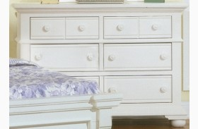 Cottage Traditions White Double Dresser