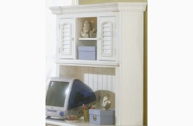 Cottage Traditions White Computer Hutch