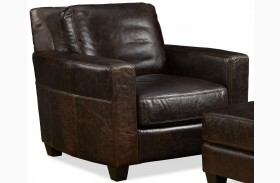 Marin Ravenswood Cocoa Leather Chair
