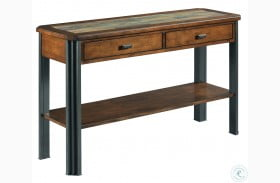 Slaton Warm Mocha Sofa Table