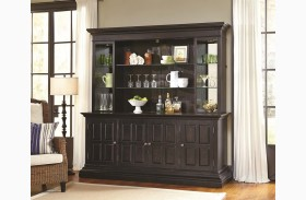 Burton Bar Cabinet with Piers