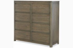 Big Sky by Wendy Bellissimo Weathered Oak 8 Drawer Double Chest