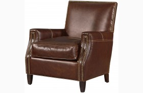 Oliver Brompton Milled Finely Accent Chair