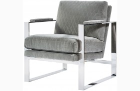 Curated Corbin Grays Accent Chair