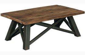 Modern Classics Crossfit Rectangular Cocktail Table