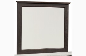 Stonehill Dark Brown Pecan Mirror