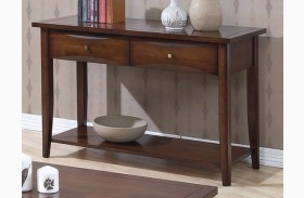 Whitehall Brown Sofa Table