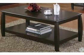 701078 Espresso Coffee Table