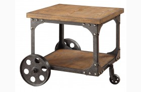 Norland Rustic End Table