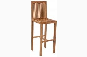 Trimaran Natural Bar Chair