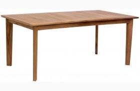 Nautical Natural Rectangular Dining Table