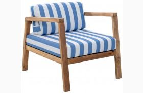 Bilander Blue & White Arm Chair Cushions