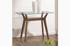 704169 Glass Top Sofa Table