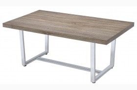 Weathered Taupe Coffee Table