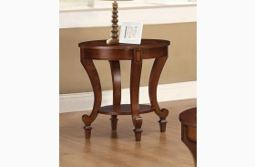 Inlay Table Top End Table