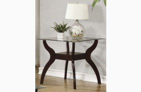 704627 Cappuccino End Table