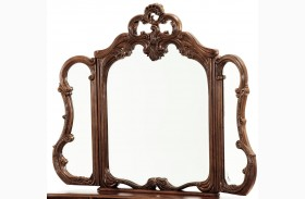 Palais Royale Trifold Vanity Mirror