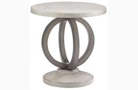 Oyster Bay Hewlett Round Side Table