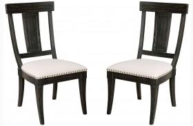 Stone Ridge Black Side Chair Set of 2