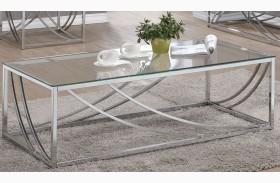 Chrome Coffee Table