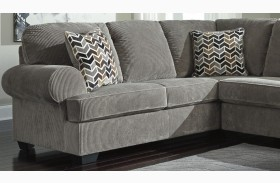 Jinllingsly Gray Finish LAF Sofa