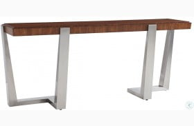 Kitano Rich Brown Hazelnut Langston Console