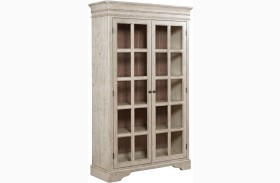 Weatherford Cornsilk Clifton China Cabinet
