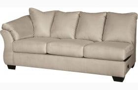 Darcy Stone LAF Sofa